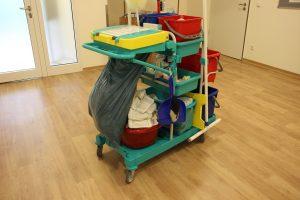 Putzmittel für Reinigungsservice