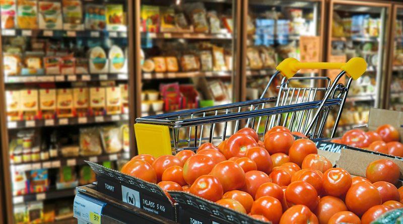 Videoüberwachung im Supermarkt